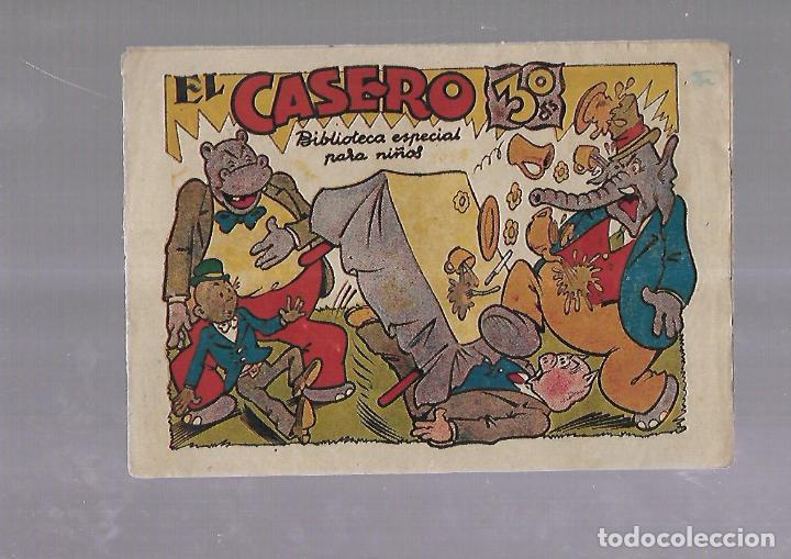 TEBEO. EL CASERO. BIBLIOTECA ESPECIAL PARA NIÑOS. EDITORIAL MARCO (Tebeos y Comics - Marco - Otros)