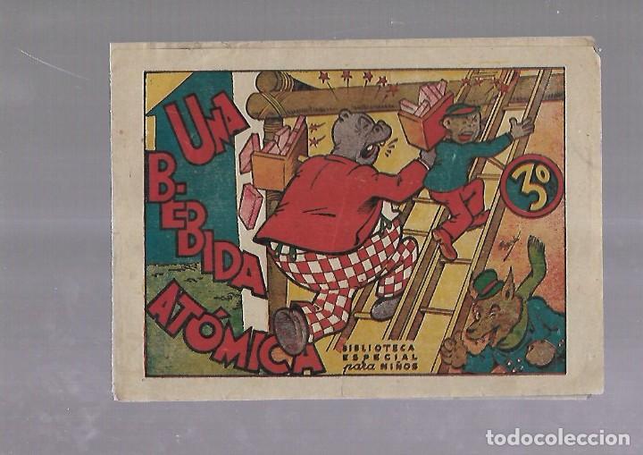 TEBEO. UNA BEBIDA ATOMICA. BIBLIOTECA ESPECIAL PARA NIÑOS. EDITORIAL MARCO (Tebeos y Comics - Marco - Otros)