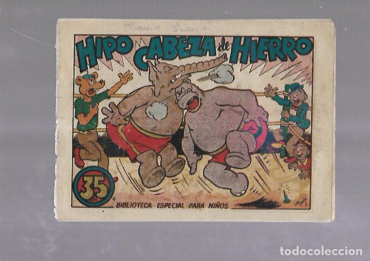 TEBEO. HIPO CABEZA DE HIERRO. BIBLIOTECA ESPECIAL PARA NIÑOS. EDITORIAL MARCO (Tebeos y Comics - Marco - Otros)