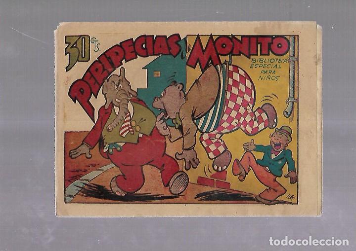 TEBEO. PERIPECIAS DE MONITO. BIBLIOTECA ESPECIAL PARA NIÑOS. EDITORIAL MARCO (Tebeos y Comics - Marco - Otros)