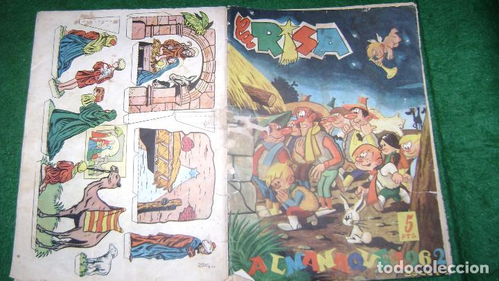 ALMANAQUE LA RISA PARA 1962 VER FOTOS CJ 20 (Tebeos y Comics - Marco - La Risa)