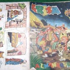 Tebeos: ALMANAQUE LA RISA PARA 1962 VER FOTOS CJ 20. Lote 109508719