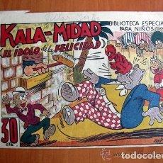 Tebeos: HIPO, MONITO Y FIFI - KALA-MIDAD EL IDOLO DE LA FELICIDAD - EDITORIAL MARCO. Lote 109734355