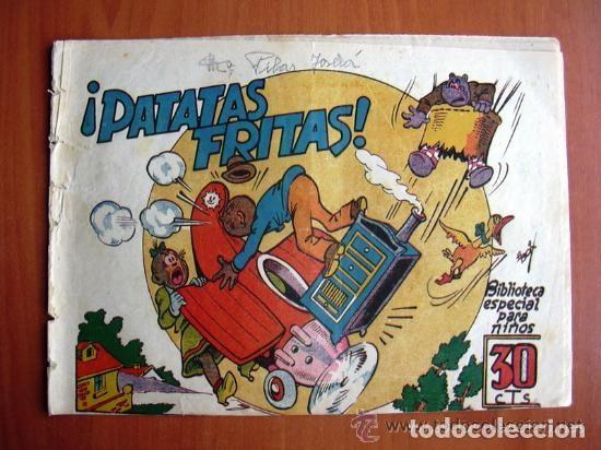 HIPO, MONITO Y FIFI - PATATAS FRITAS - EDITORIAL MARCO (Tebeos y Comics - Marco - Hipo (Biblioteca especial))