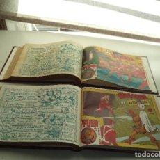 Tebeos - El Puma 2ª Serie Año 1.953 Colección Completa de 60 Tebeos Originales Encuadernada en 2 Tomos Nuevos - 110007647