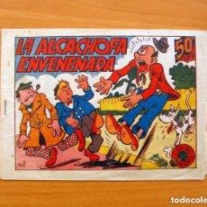 Tebeos: CARTAPACIO Y SEGUIDILLA - LA ALCACHOFA ENVENENADA - EDITORIAL MARCO, AÑOS 40. Lote 110012859