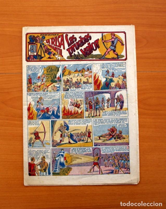 EDICIONES LA RISA INFANTIL, Nº 2, LAS PRUEBAS DEL VALOR - EDITORIAL MARCO 1941- TAMAÑO 35X25 (Tebeos y Comics - Marco - La Risa)