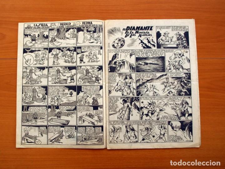 Tebeos: Ediciones la risa infantil, nº 2, Las pruebas del valor - Editorial Marco 1941- Tamaño 35x25 - Foto 2 - 110469043