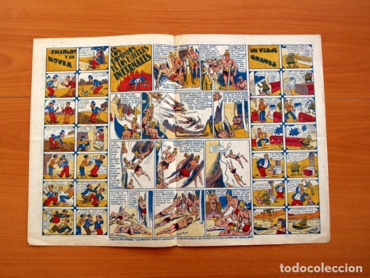 Tebeos: Ediciones la risa infantil, nº 2, Las pruebas del valor - Editorial Marco 1941- Tamaño 35x25 - Foto 3 - 110469043