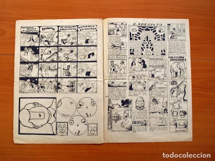 Tebeos: Ediciones la risa infantil, nº 2, Las pruebas del valor - Editorial Marco 1941- Tamaño 35x25 - Foto 4 - 110469043