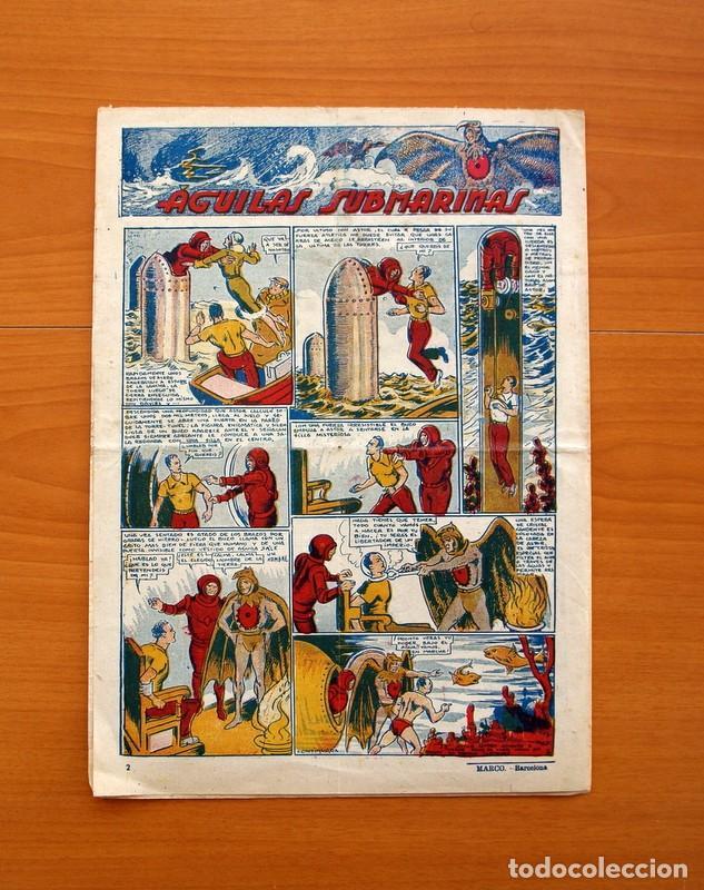 Tebeos: Ediciones la risa infantil, nº 2, Las pruebas del valor - Editorial Marco 1941- Tamaño 35x25 - Foto 5 - 110469043