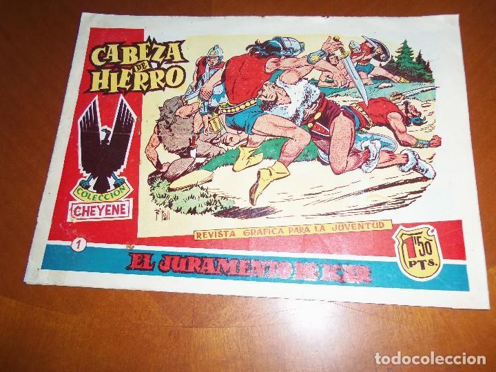 CABEZA DE HIERRO-Nº 1--ORIGINAL (Tebeos y Comics - Marco - Otros)