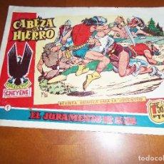 Tebeos: CABEZA DE HIERRO-Nº 1--ORIGINAL. Lote 110743511