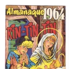 Tebeos: RIN - TIN - TIN, ALMANAQUE AÑO 1.964. ORIGINAL DIBUJANTES R. BEYLOC, CASTILLO, RICART, RAFF.. Lote 110976547