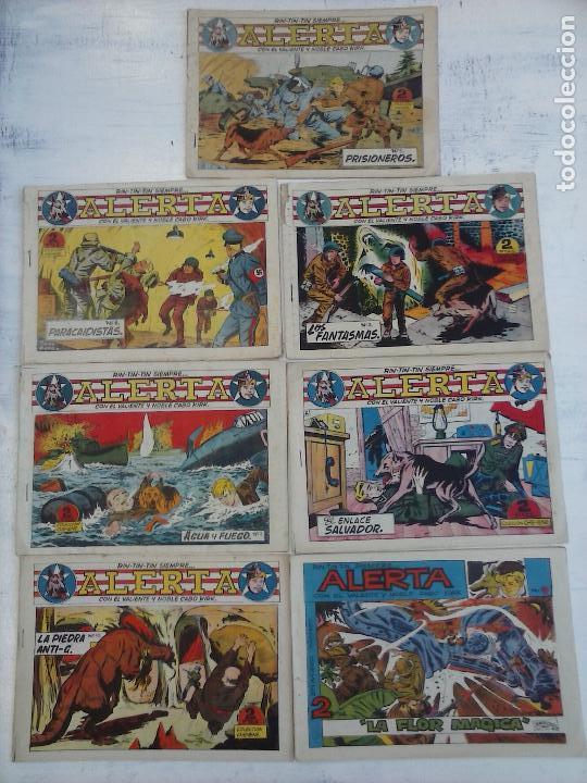 RIN TIN TIN - RINTINTIN SIEMPRE ALERTA ORIGINALES MARCO 1959 - LOTE - 2,3,5,6,7,10,12 (Tebeos y Comics - Marco - Rin-Tin-Tin)