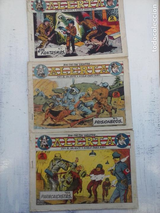 Tebeos: RIN TIN TIN - RINTINTIN SIEMPRE ALERTA ORIGINALES MARCO 1959 - LOTE - 2,3,5,6,7,10,12 - Foto 2 - 111541595