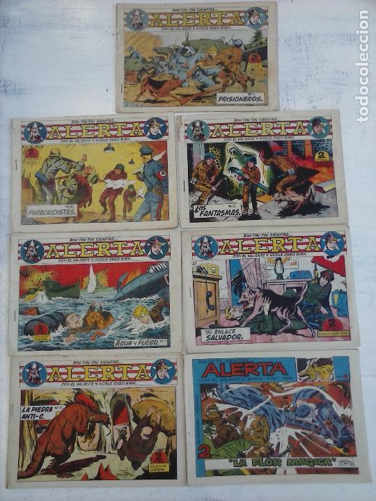 Tebeos: RIN TIN TIN - RINTINTIN SIEMPRE ALERTA ORIGINALES MARCO 1959 - LOTE - 2,3,5,6,7,10,12 - Foto 4 - 111541595