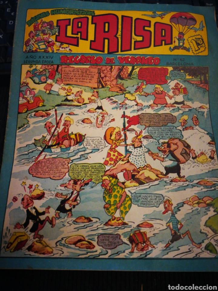 LA RISA. N°62. MARCO (Tebeos y Comics - Marco - La Risa)