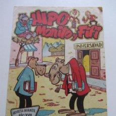 Tebeos: HIPO, MONITO Y FIFI 7 MARCO, 3ª SERIE 1958 EN BUEN ESTADO!! C95SADUR. Lote 112249091