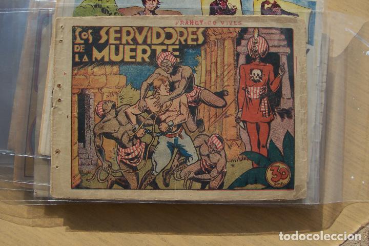 MARCO,- MONOGRÁFICOS Nº LOS SERVIDORES DE LA MUERTE, DE GRÁFICA BIBLIOTECA LA RISA (Tebeos y Comics - Marco - Otros)
