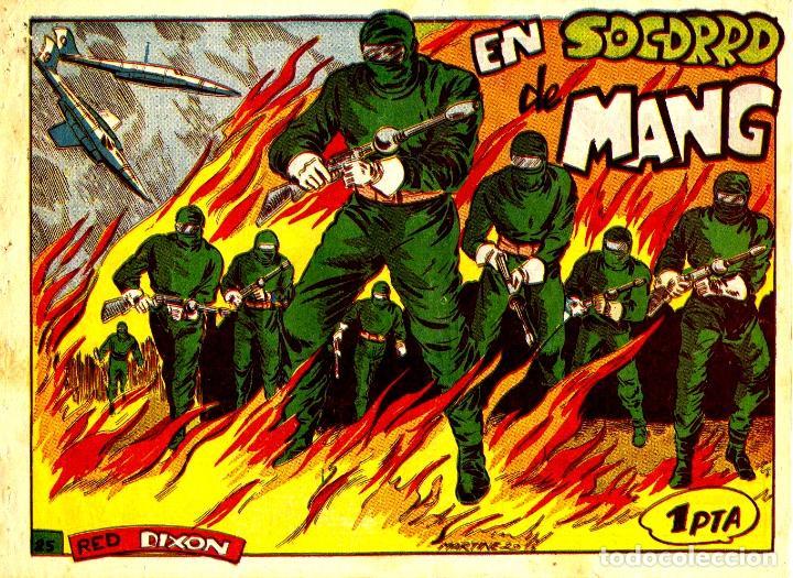 RED DIXON-25. PRIMERA SERIE (MARCO, 1954) DE MARTÍNEZ OSETE (Tebeos y Comics - Marco - Red Dixon)