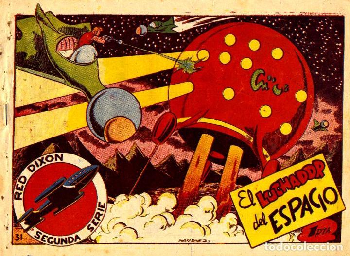 RED DIXON-31. SEGUNDA SERIE (MARCO, 1955) DE MARTÍNEZ OSETE (Tebeos y Comics - Marco - Red Dixon)