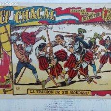 Tebeos: EL CHACAL ORIGINAL Nº 7 - EDI. MARCO 1959 - DIBUJOS MARTÍNEZ OSETE. Lote 113480763