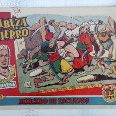Tebeos: CABEZA DE HIERRO ORIGINAL Nº 9 1959 EDI MARCO - RIPOLL G DIBUJOS, MUY DIFICIL. Lote 113481007
