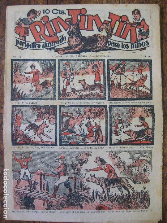 RIN-TIN-TIN Nº242 - MARCO 1ª EPOCA 1928-35 - SIN ABRIR - (Tebeos y Comics - Marco - Rin-Tin-Tin)