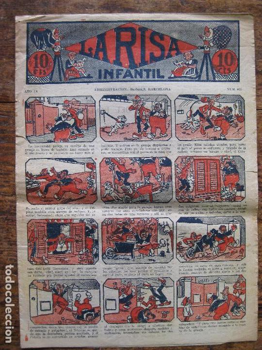 LA RISA - Nº 425 - MARCO 1924–37- SIN ABRIR (Tebeos y Comics - Marco - La Risa)