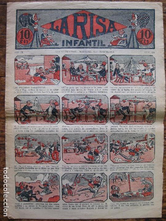 LA RISA - Nº 434 - MARCO 1924–37- SIN ABRIR (Tebeos y Comics - Marco - La Risa)