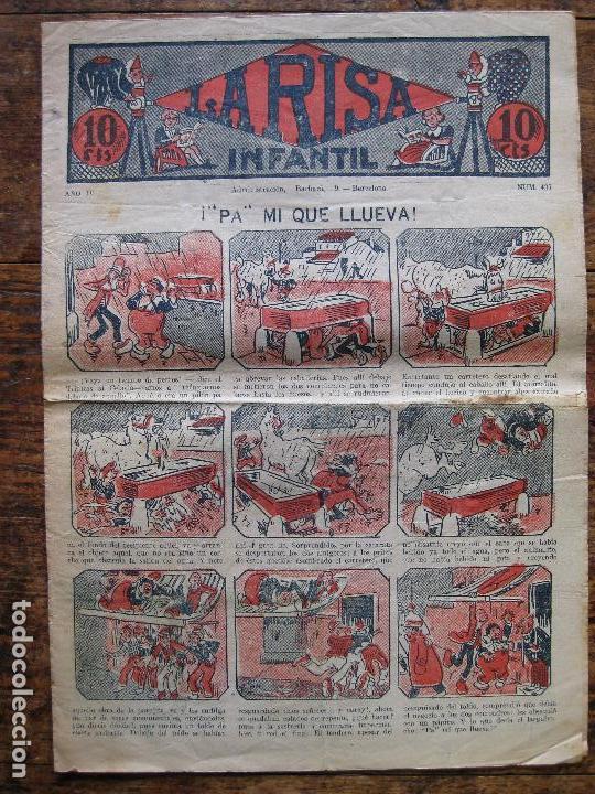 LA RISA - Nº 437 - MARCO 1924–37- SIN ABRIR (Tebeos y Comics - Marco - La Risa)