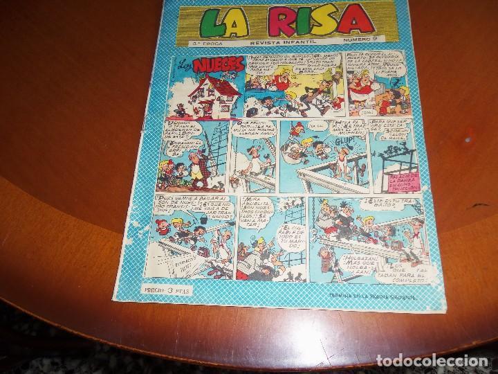 LA RISA --Nº 3º EPOCA Nº 9-- (Tebeos y Comics - Marco - La Risa)