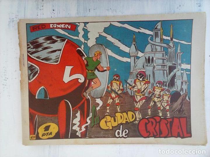 Tebeos: RED DIXON 1ª serie ORIGINAL 1954 EDI. MARCOS 1 AL 70 completa - MARTÍNEZ DIBUJOS, ver portadas - Foto 23 - 103975539