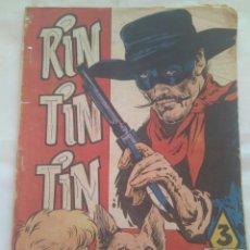 Tebeos: CÓMIC RIN TIN TIN /EL RETORNO NÚMERO 120 /AÑO 1958. Lote 116436903