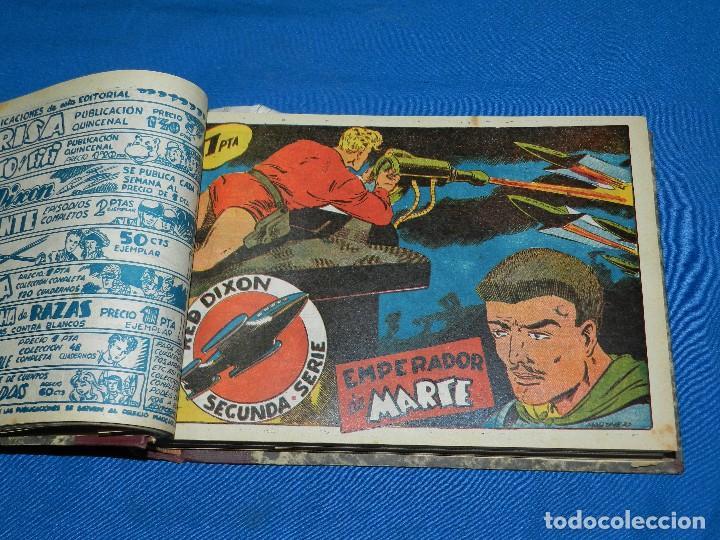 Tebeos: (M4) RED DIXON , SEGUNDA SERIE DEL NUM 1 AL NUM 70 , EDT MARCO , ENCUADERNADO - Foto 2 - 117221707
