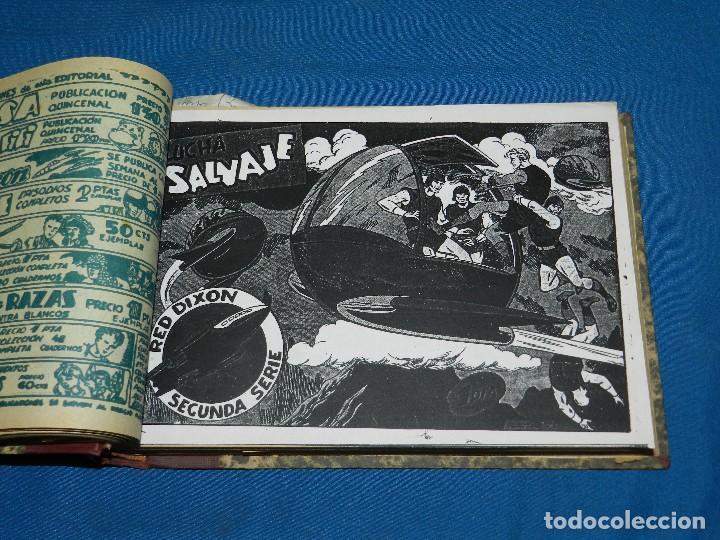 Tebeos: (M4) RED DIXON , SEGUNDA SERIE DEL NUM 1 AL NUM 70 , EDT MARCO , ENCUADERNADO - Foto 3 - 117221707