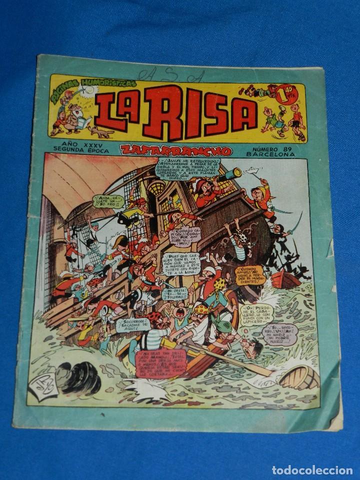 (M1) LA RISA AÑO XXXV NUM 89 , EDT MARCO , CON ROTURITAS (Tebeos y Comics - Marco - La Risa)