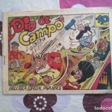 Tebeos: BIBLIOTECA ESPECIAL PARA NIÑOS DIA DE CAMPO. Lote 119261119