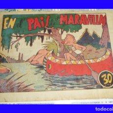 Tebeos: NARIZAN EN EL PAIS DE LAS MARAVILLAS ED. MARCO ORIGINAL DE EPOCA 30CTS. Lote 119997167