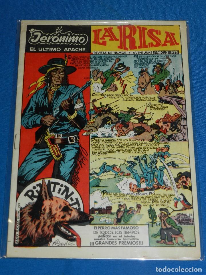 (M1) LA RISA AÑO XXXIX NUM 223 , LA RISA , EDT MARCO , BUEN ESTADO (Tebeos y Comics - Marco - La Risa)