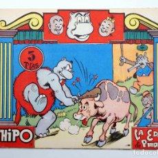 Tebeos: HIPO 3. LA EDAD DE PIEDRA (E. BOIX) MARCO, 1962. ORIGINAL. OFRT. Lote 120636818