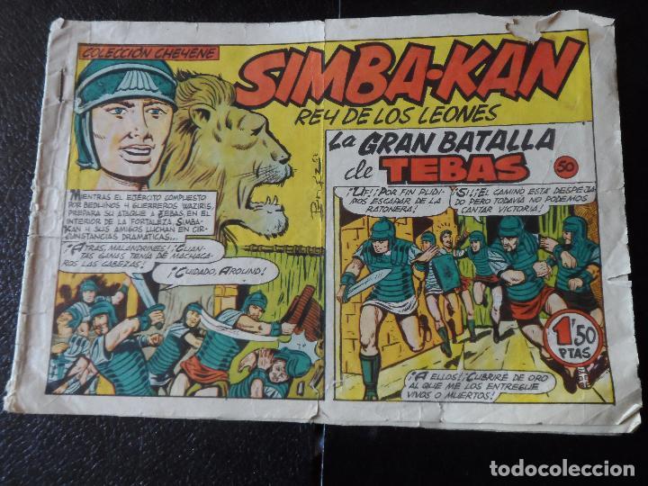 SIMBA KAN Nº 50 EDITORIAL MARCO ORIGINAL (Tebeos y Comics - Marco - Otros)