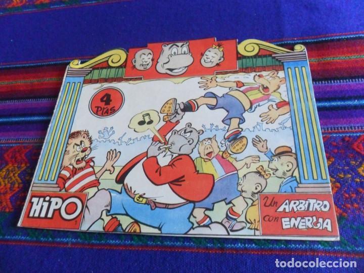HIPO Nº 1 UN ÁRBITRO CON ENERGÍA 4 PTS Y Nº 5 CAMARERO DE VERANO 3 PTS. MARCO 1962. BOIX. (Tebeos y Comics - Marco - Hipo (Biblioteca especial))