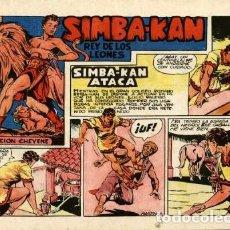 Tebeos: SIMBA-KAN -11 (MARCO, 1959) DE MARTÍNEZ OSETE. Lote 121973251