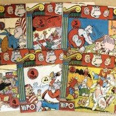 Tebeos: TEBEO HIPO 6 VOLUMENES EDICIÓN COMPLETA 1962. Lote 125105146