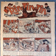 Tebeos: TEBEO N°5 RIN-TIN-TIN 1928. Lote 125395555