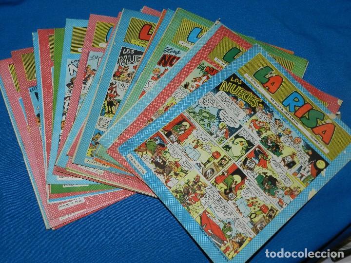 (M3) LA RISA 3º EPOCA 1965 - LOTE DEL NUM 1 AL NUM 32 ( 32 NUMEOS EN TOTAL ) , EDT MARCO (Tebeos y Comics - Marco - La Risa)