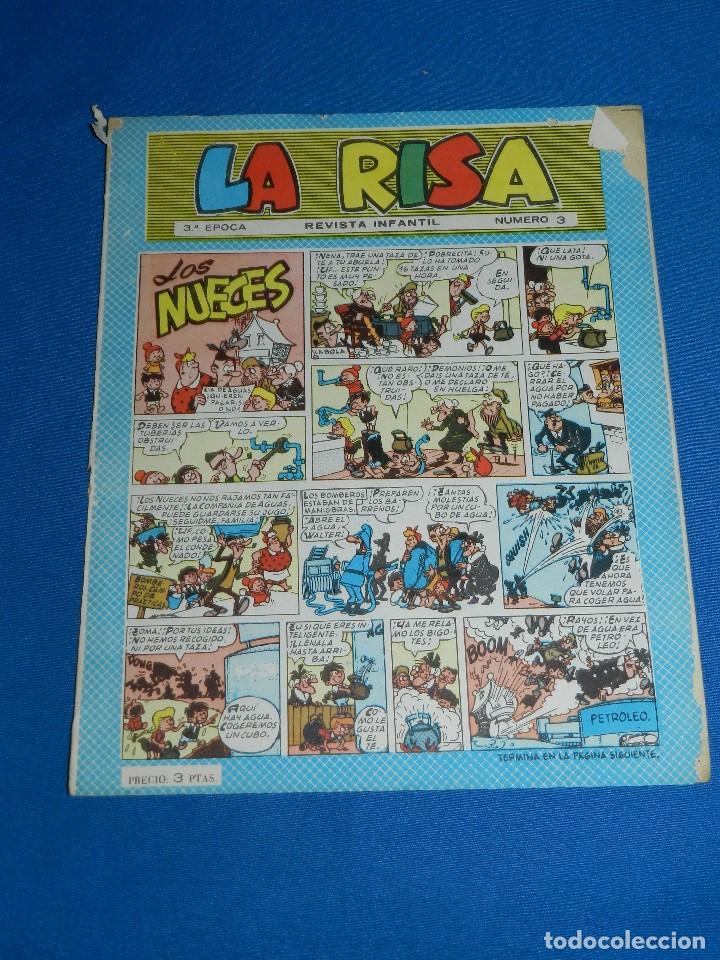 Tebeos: (M3) LA RISA 3º EPOCA 1965 - LOTE DEL NUM 1 AL NUM 32 ( 32 NUMEOS EN TOTAL ) , EDT MARCO - Foto 3 - 125783919