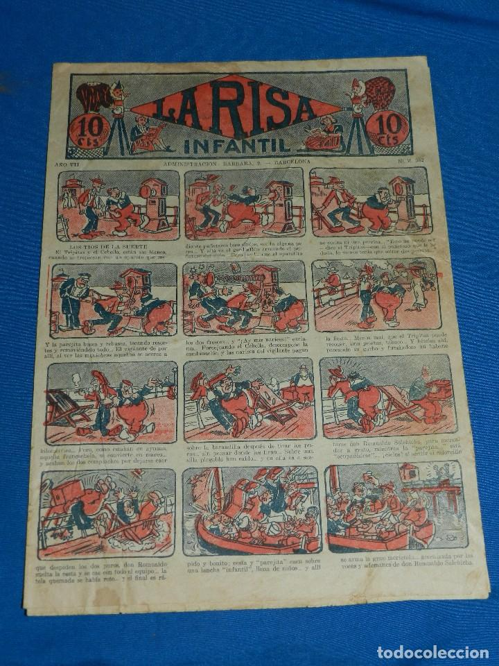 (M2) LA RISA INFANTIL NUM 362 , EDT MARCO , CON ROTURAS (Tebeos y Comics - Marco - La Risa)